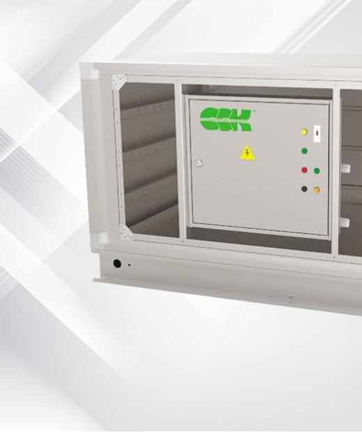 Вентиляційне обладнання для знезараження повітря